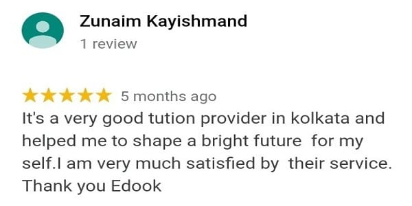 Edook Home tuition review