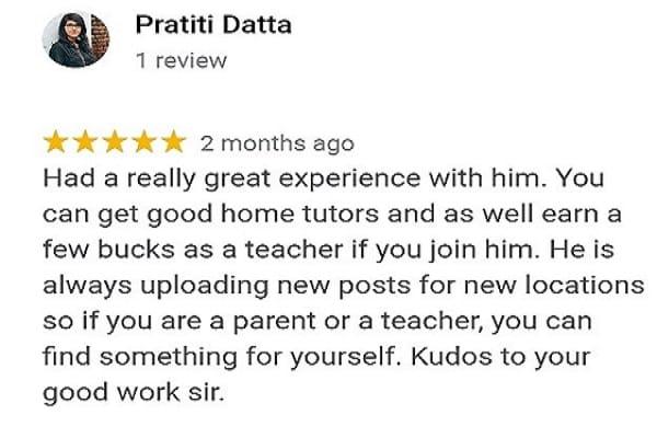 Online tutor provider