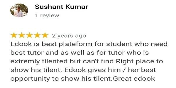 Online tutor near me (Edook)